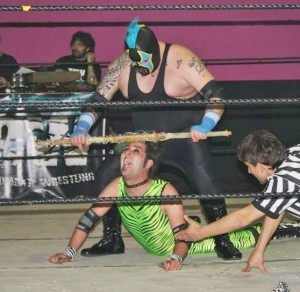 barbed wired kendo stick cleared
