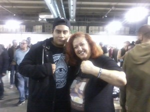 Alexander Castro con Erika Corvo