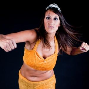Nella foto, in alto: Queen Maya. Bella, alta, forte e fiera.