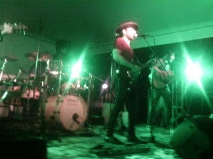 Il concerto dei Wings Along road a Corsico (Mi)