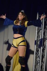 Nella foto, in alto: la nostra Queen Maya, di recente convocata in WWE per un tryout