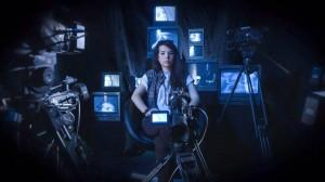 Nella foto, in alto: Camilla, soggetto e oggetto; tecniche di ripresa in laboratorio video allo IED