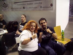Nella foto, in lato: Erika Corvo con Emilio Bernocchi, Mr. Exxcellent