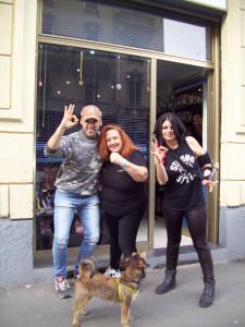 Paziente Zero, Insanity e il cucciolo Paziente Uno con la nosta Erika Corvo