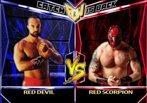Red Devil versus Red Scorpion, la locandina