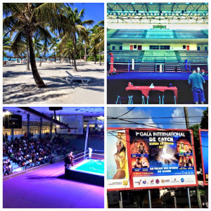 Nella foto, in alto: trattamento extralusso durante un tour ai Caraibi