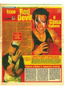 Nella foto, in alto: I giornali parlavano di Fabio già tanti anni fa