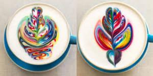 cappuccino stile Unicorno a colori