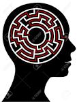 cerchio radiali labirinto del cervello