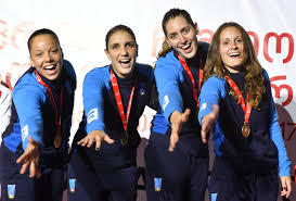 dream team femminile azzurro