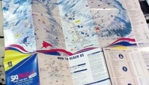Nella foto, in alto: la mappa