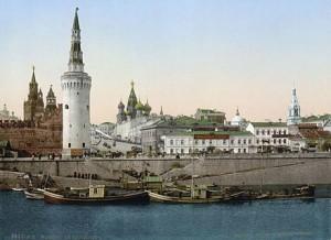 immagine esterna del Cremlino con le sue torri