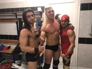 Nella foto, in alto: i tre Cavalieri dellApocalisse