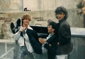 Nella foto, in alto: stravaganti amicizie musicali