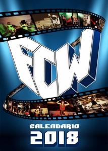 Nella foto, in alto: il primo calendario a tema wrestling italiano