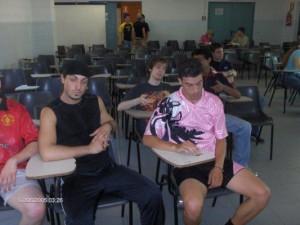 Nella foto, in alto: Alfredo, studente svogliato delle superiori