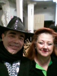 Nella foto, in alto: Erika Corvo e il General Manager Frank Basilico, fratelli di ring