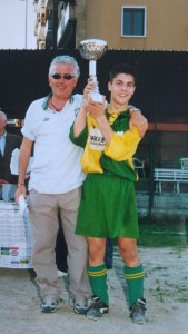 Nella foto, in alto: Il piccolo Alessandro, campione anche nella San Giulianese