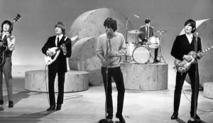 Nella foto, in alto: i Rolling Stones