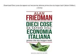 10 cose da sapere sull'economia italiana