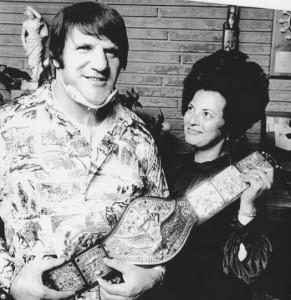 Nella foto, in alto: Bruno e la moglie Carol