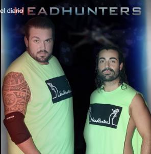Nella foto, in alto: gli Headhunters, Kronos e The Entertrainer