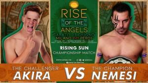 Nella foto, in alto: Akira vs Nemesi
