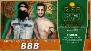 I BBB, ovvero Brixia Bones Breakers: Mirco Mori e Nick Lenders, vincitori del match