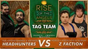 Nella foto, in alto: Headhunters vs Z-Faction
