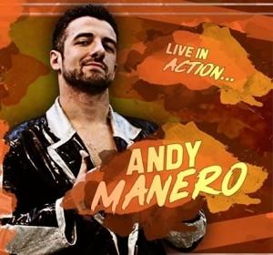 Nella foto, in alto: Andy Manero, grandissimo in questo match