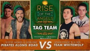 Nella foto, in alto: Team Pirates along Road vs Team Whitewolf