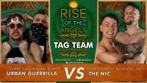 Nella foto, in alto: Urban Guerrilla vs The Nic