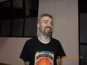Nella foto, in alto: Il nostro grande promoter, Fabio Tornaghi