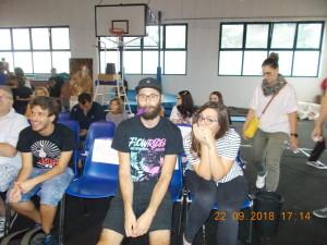 nella foto, in alto: Raffaello e Giulia del Fan Culo Club