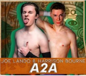 N ella foto, in alto: A2A, ovvero Joe Lando ed Harrison Bourne