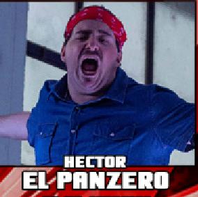 Nella foto, in alto: Hector Panzero