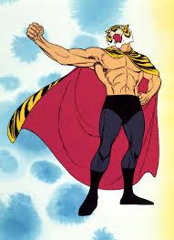 Nella foto, in alto: L'Uomo Tigre, eroe indiscusso di grandi e piccini