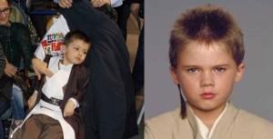Nella foto, in alto: quale dei due è il cosplayer?