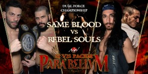 Nella foto, in alto: Same Blood vs Rebel Souls