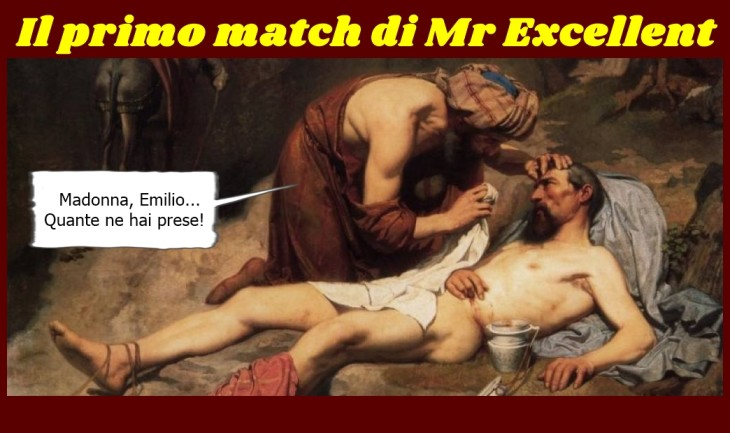 Il primo match di Mr. Excellent - Copia