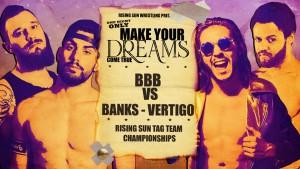 Nella foto, in alto: Brixia Bones Breakers contro Vaughn Vertigo e Brent Banks
