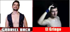 Nella foto, in alto: Bach e El Gringo