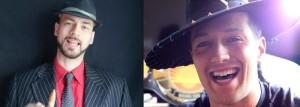 Nella foto, in alto: Alessandro Corleone contro Paxxo