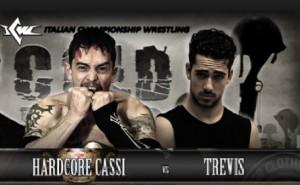 Nella foto, in alto: Cassi contro Trevis