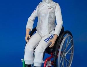 bambola realizzata da Mattel