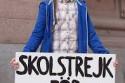 Greta manifesta a favore del clima