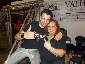 con con Andy Manero