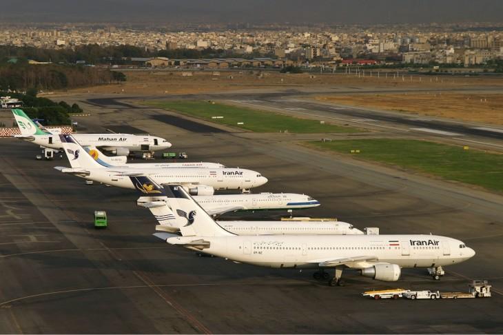 Mehrabad_Airport_aircraft_lineup_Sharifi