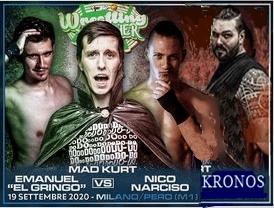 Kronos vs Gringo vs Narciso vs Kurt